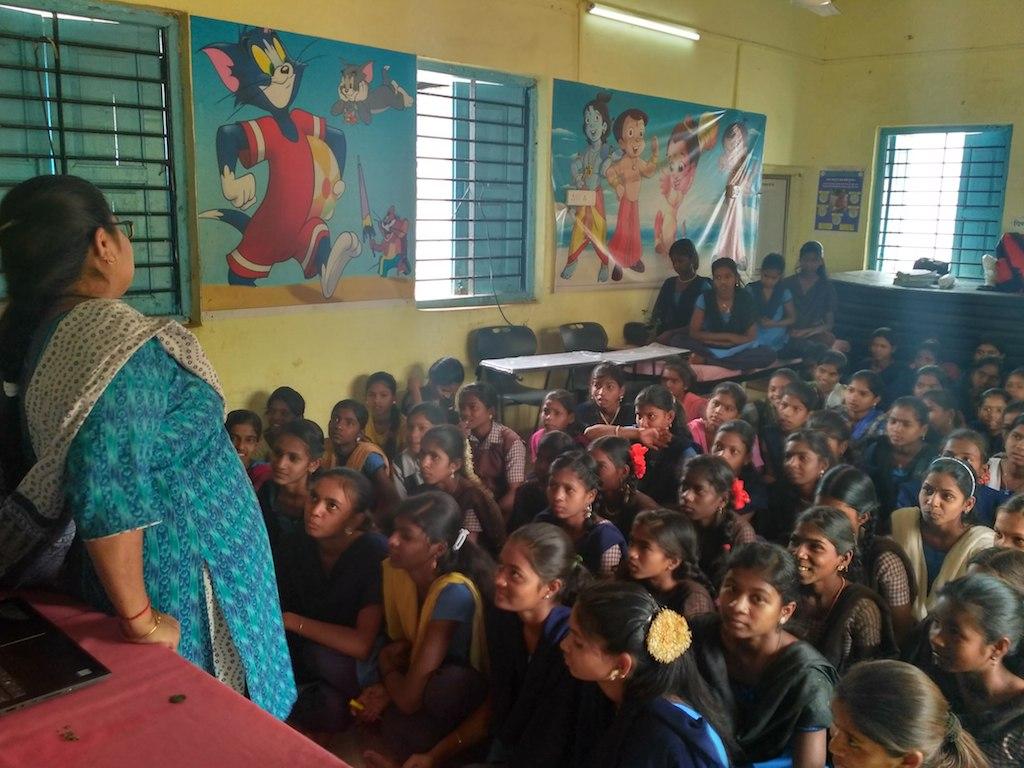 Awareness training of adolescent girls