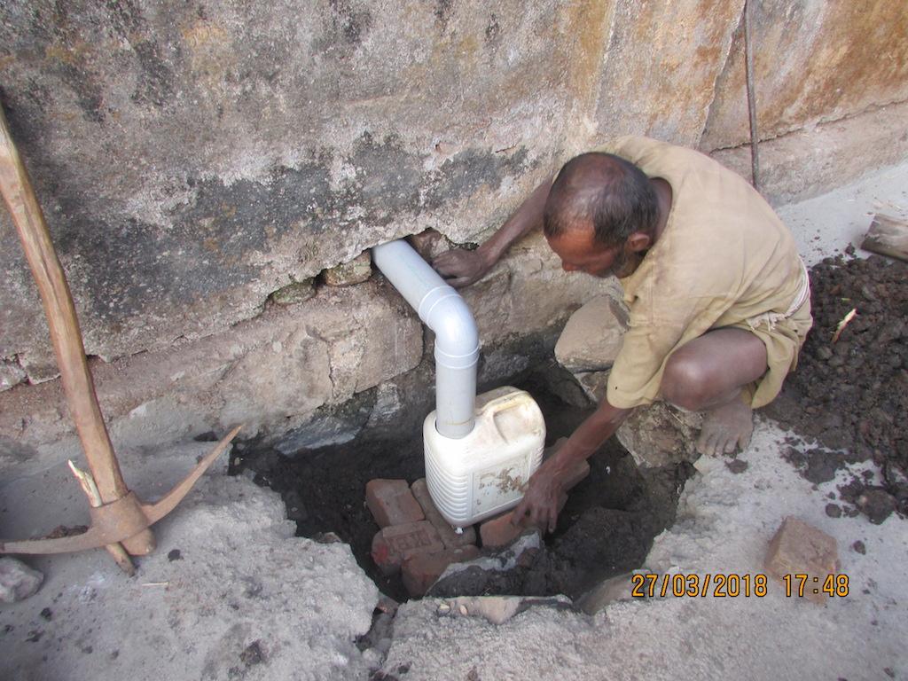 Soak pit construction